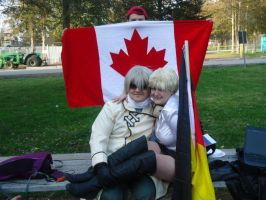 Hetalia - Germany and Russia + Canada by Midnight-Dance-Angel