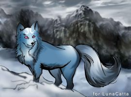 Fenrir the Wolf by theperfectbromance