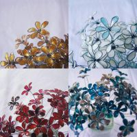 Wire Flowers - The Ones with Nail Varnish by DeskLife