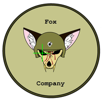 new airsoft patch/logo! by Alden-the-Fox