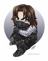 Chibi Winter Soldier by Lyrilith