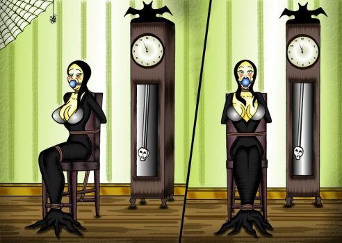 Morticia Addams D.I.D. Double Take by vladen13