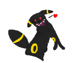 Impy the Retarded Umbreon by Wall-eFreakzor