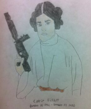 Princess Leia by BlueHedgehog1997