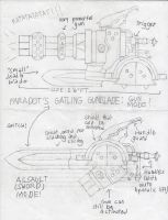 Gatling Gunblade w/ FULL Description by AboutPictures