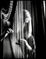Phantom Harpist by MedicatedGenius