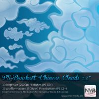 Chinese Cloud Brushes v.2 by Hexe78