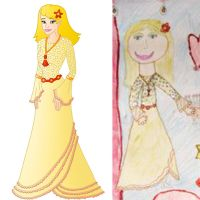 child's drawing gone Disney 39 by Willemijn1991