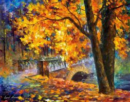 Bridge Of Inception by Leonid Afremov by Leonidafremov