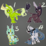 .:MLP: Blade-Horn Kirin Draw-to-Adopts-WINNERS!:. by Goddess-of-BUTTSECKS