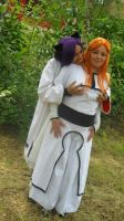 Yoruichi: I like your breasts, Inoue~ by xShunShin