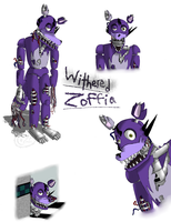Withered Zoffia - Five Nights at Freddy's 2 by Cephei97