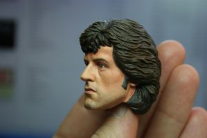 repainted Hot Toys Rambo - 3 by DarrenCarnall
