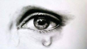 Eye charcoal by Luisamd