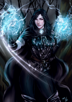 Yennefer of Vengerberg by Forty-Fathoms