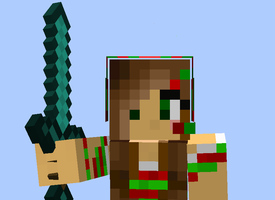Have a Merry Minecraft Cristmas! by RegularGoldenGod