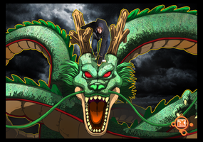 Shenron and Me by ixtrove
