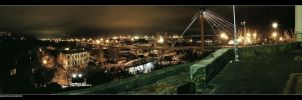 Pano - seaport Odessa, Ukraine by viruzzz