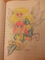 .:AT:. Cheer up, Angel ! by POLISHhedgieFanGirl