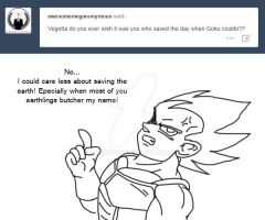 Ask Vegeta 1 by Camron23