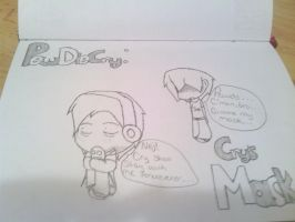 PewDieCry: Cry's Mask  :Contest Entry: by unusualKitten