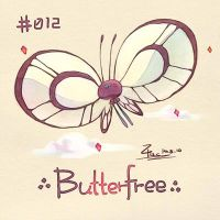 Butterfree by FL-ZC