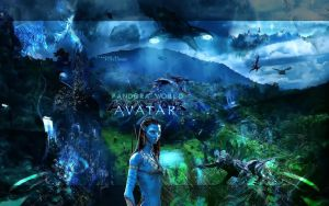 Avatar Movie Wall by PixelAnge