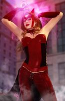 Scarlet Witch 3D by CodenameZeus