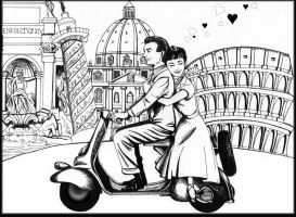 Roman Holiday by Zoeira