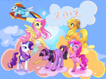 Happy New year by HylianGuardians