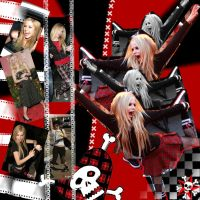 Avril Lavigne smile by Lucasfiat