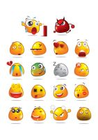 Emotion Icons by yutat