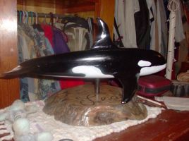 Wooden Orca by SquirrelWitch