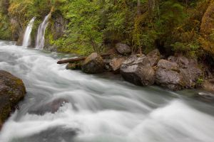 Needle Falls 2 by 11thDimensionPhoto