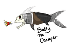 Barry the CHOMPER by TheIronDragonBrigade