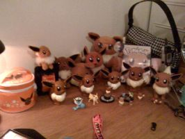My Eevee Collection..So Far by Eevee-Kins