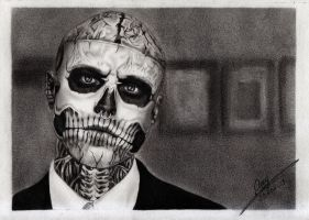 Zombie Boy by FaceItDrawing