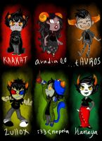 lil lowbloods, homestuck by smallfry16