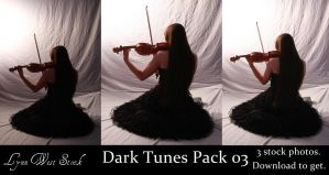 Dark Tunes Pack 03 by Lynnwest-Stock