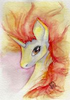 Rapidash by ShonaMaryDesigns