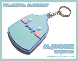 FMA :: Alphonse Keychain by whitefrosty