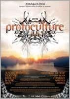 PROTOCULTURE A3 poster by edit-dsn