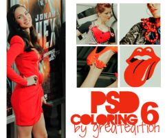 .PSD Coloring 6 by greatedition