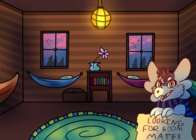 Looking for Roommates! CLOSED FOR NOW by Pixel-Coyote