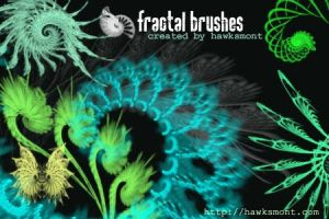 Fractal Brushes I by hawksmont