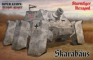 Sturmtiger Hexapod by Rob-Cavanna
