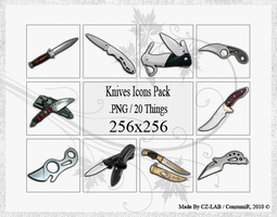 Knives Icons Pack by conzumir