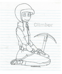 The Climber by Zombiehorse2