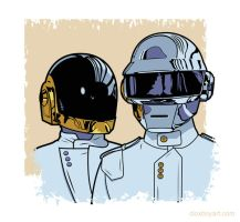 Daft Punk by Cloxboy