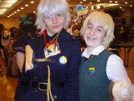Prussia and England Yaoi Stick - Tigercon 2012 by WolvesOfComedy
